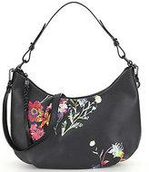 Elliott Lucca Intreccio Floral Hobo Bag