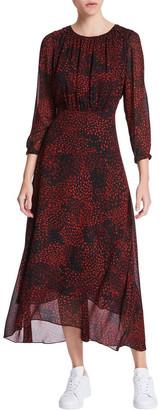 Marcs Animal Swirl Viscose Dress