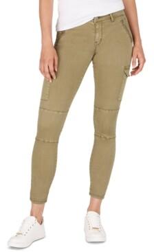 Numero Mid-Rise Cargo Skinny Jeans