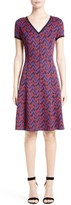St. John Women's Aziza Zigzag Jacquard Knit Dress