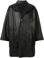 Issey Miyake Pre Owned 1980's Sport Line reversible leather coat