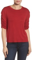 Halogen Women's Cinch Sleeve Tee