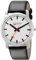 Mondaine Unisex A6383035011SBB Simply Elegant Analog Display Swiss Quartz Watch