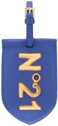 No.21 Logo Plaque Flat Pouch