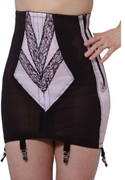 Rago Vintage Style High Waist Style Open Bottom Girdle in S to 2X