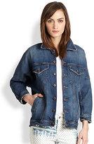 Joe's Jeans Dolman-Sleeved Denim Jacket