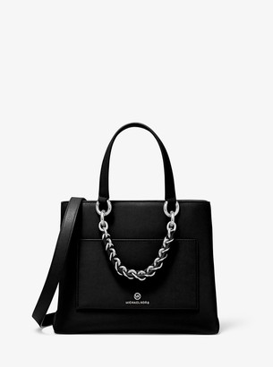 MICHAEL Michael Kors Cece Small Leather Chain Messenger Bag
