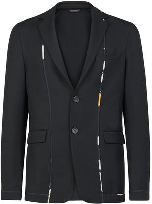 Fendi Kaleidoscope Slim Fit Deconstructed Sport Coat