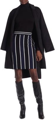 Diane von Furstenberg Mala Colorblock Stripe Skirt