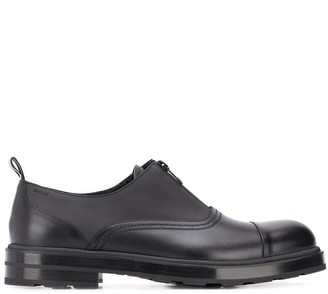 Bally Comissar zipped loafers