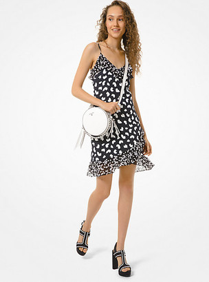 Michael Kors Petal Viscose Slip Dress
