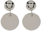 Vince Camuto Dual Circle Drop Earrings