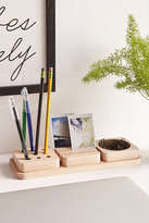 Urban Outfitters 3-Piece Wooden Tray Desk Organizer