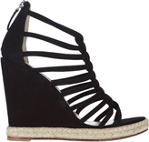 Jean-Michel Cazabat Elvira Strappy Wedge Sandals