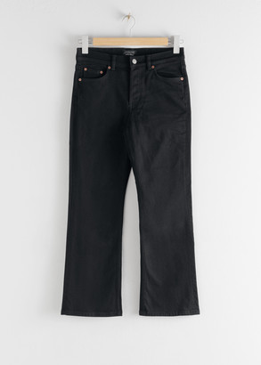 And other stories Classic Kick Flare Mid Rise Jeans