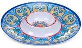 Certified International Melamine Tuscany Chip & Dip Platter