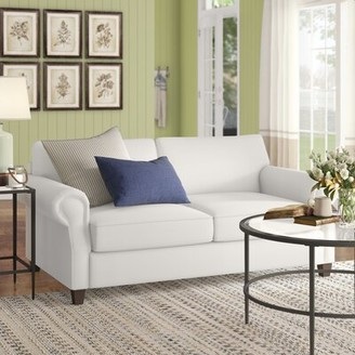 """Birch Laneâ""""¢ Heritage Dilillo Loveseat Birch Lanea Heritage Upholstery Color: Microsuede Charcoal"""
