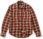 Ralph Lauren RRL Plaid Cotton Twill Shirt