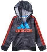 adidas Boys 4-7x Space-Dyed Fleece-Lined Hoodie