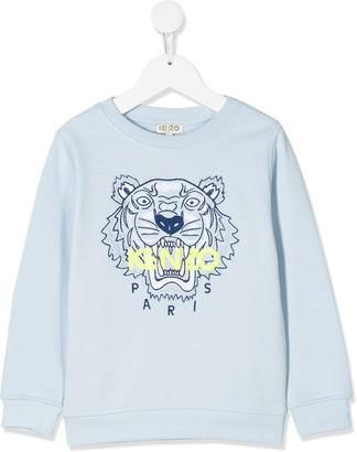 Kenzo Kids Embroidered Logo Sweatshirt