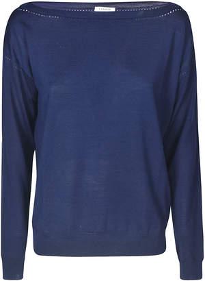 P.A.R.O.S.H. Off-shoulder Classic Sweater