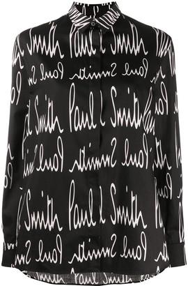 Paul Smith Monogram Print Shirt