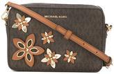 MICHAEL Michael Kors flora applique shoulder bag - women - Leather - One Size