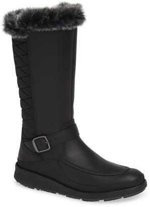 Merrell Tremblant Ezra Faux Fur Trim Tall Waterproof Boot