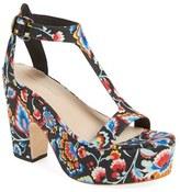 Loeffler Randall 'Minette' T-Strap Platform Sandal