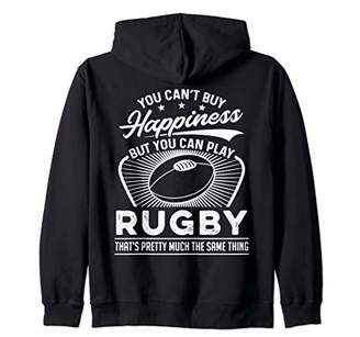 IDEA Rugby Gift Rugby Player Zip Hoodie