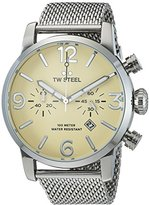 TW Steel Men's 'Maverick' Quartz Stainless Casual Watch, Color:Silver-Toned (Model: MB4)