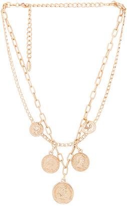 Ettika Layered Coin Necklace