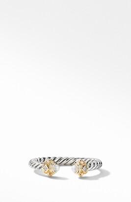 David Yurman Renaissance Ring in 14K Gold with Diamonds