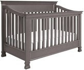 Million Dollar Baby Classic Foothill 4-in-1 Convertible Crib with Toddler Bed Conversion Kit- Weathered Grey