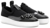 McQ by Alexander McQueen Embellished Slip-on Sneakers