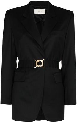 LVIR Summer belted blazer