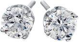 JCPenney FINE JEWELRY 1/2 CT. T.W. Round Diamond Stud Earrings