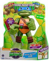 NEW Teenage Mutant Ninja Turtles Half Shell Hero Action Kicking Leo 12inch