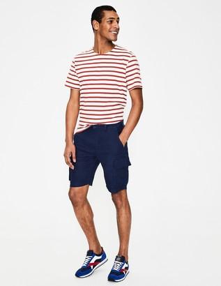 Boden Felton Linen Cargo Shorts