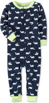 Carter's 1-Pc. Whale-Print Pajamas, Baby Boys (0-24 Months)