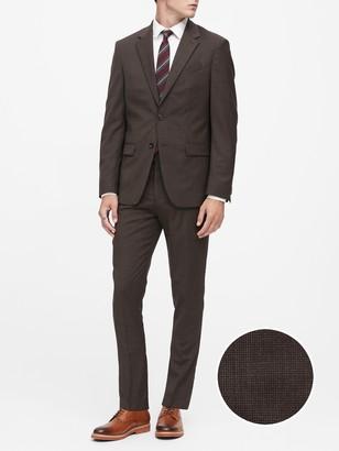 Banana Republic Slim Italian Wool Suit Jacket