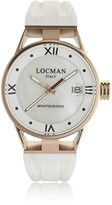 Locman Montecristo Rose Gold PVD Stainless Steel & Titanium Women's Watch