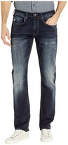 Buffalo David Bitton Ash X Slim Fit in Whiskered and Sanded (Whiskered and Sanded) Men's Jeans