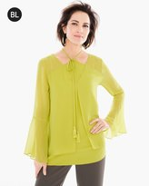 Chico's Double-Layer Top