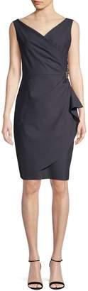 Alex Evenings Ruched Sleeveless Dress
