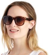 Sole Society Franc oversize round sunglasses