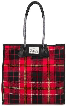 Vivienne Westwood Tartan Tote Bag