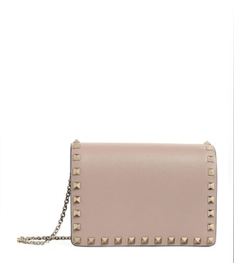 Valentino Garavani Mini Leather Rockstud Cross-Body Bag