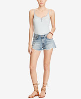 Denim & Supply Ralph Lauren Striped Lace-Up Camisole