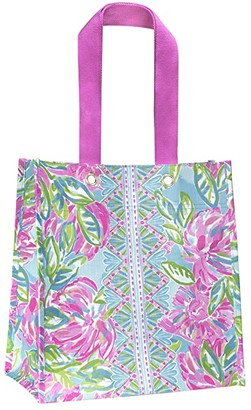 Lilly Pulitzer Market Shopper (Totally Blossom) Tote Handbags